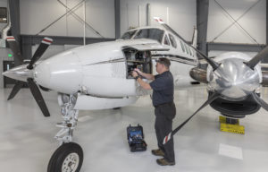 king air avionics