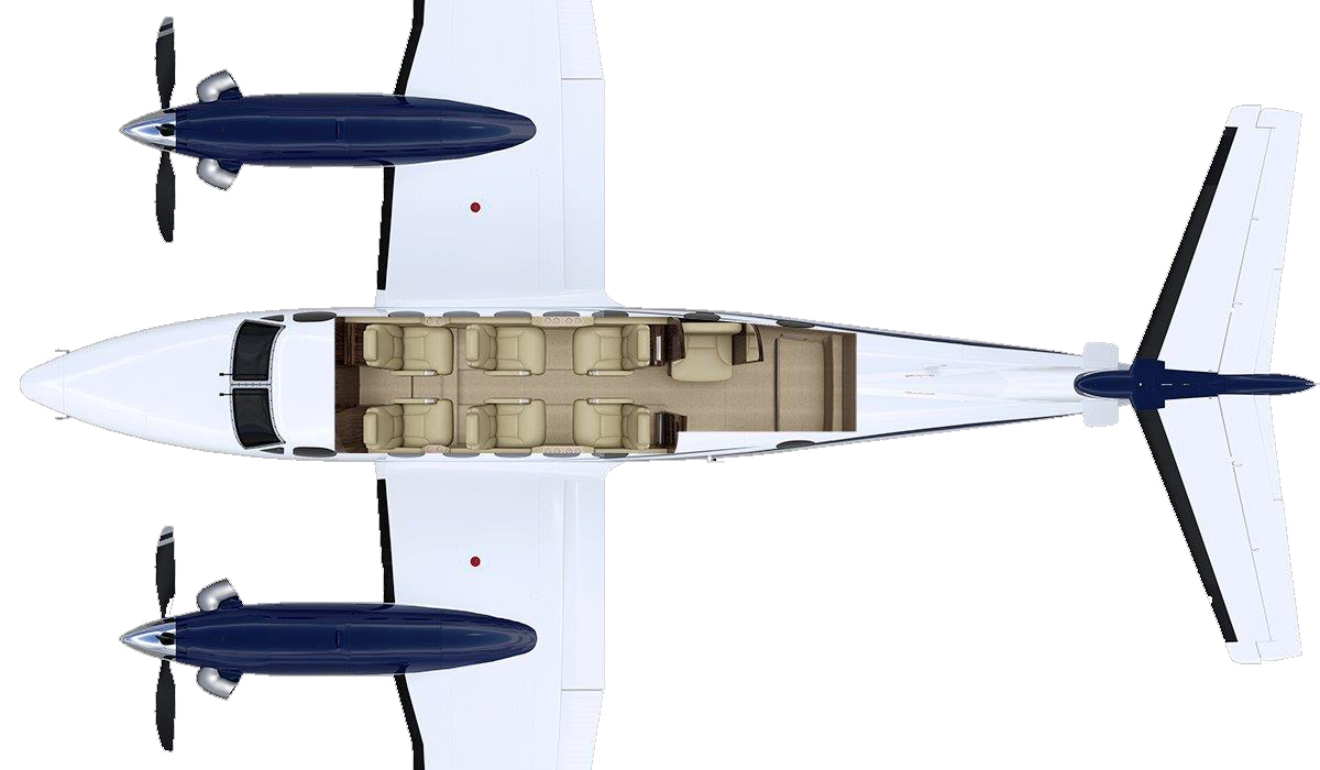 Charter Aircraft Illustration